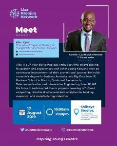 Meet Alex Kyalo - Lizz Ntonjira Network – Career Series