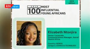 Lizz Ntonjira named Top 100 2019 Most Influential Young Africans