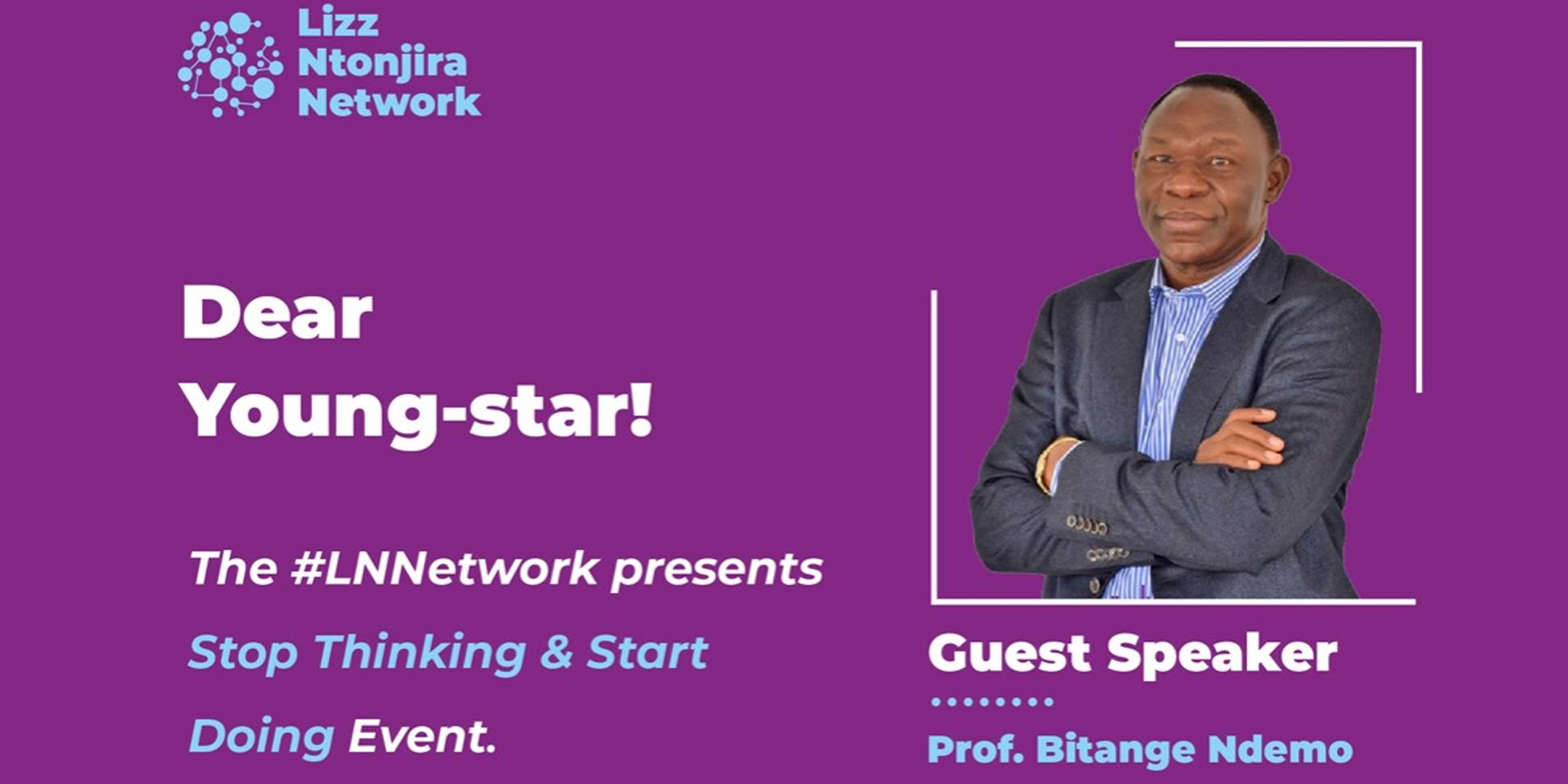 Lizz Ntonjira Network - Stop Thinking & Start Doing Event - Bitange Ndemo