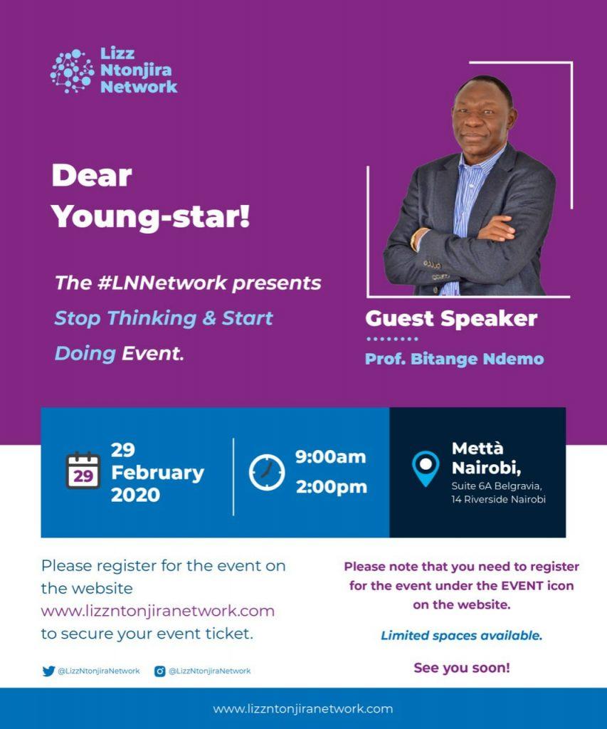 Stop Thinking & Start Doing - The Lizz Ntonjira Network