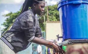 Water the silver bullet in war on pandemic