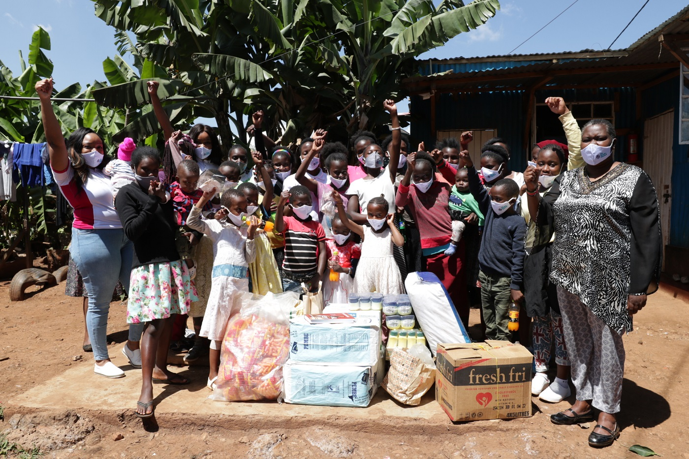 Christmas Giving at the Mary Faith Childrens Centre