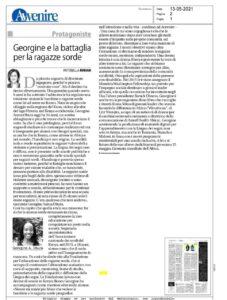 Georgine e la battaglia per la ragazze sorde